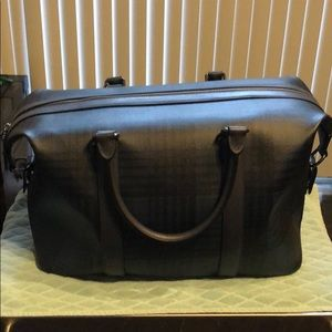 Coach Voyager Mens Duffle. Midnight Navy Multi